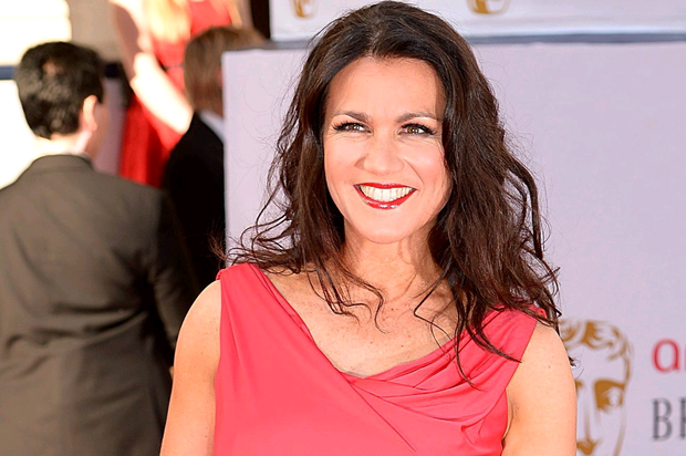 Susanna Reid arriving for the 2014 Arqiva British Academy Television Awards at the Theatre Royal, Drury Lane, London. PRESS ASSOCIATION Photo. Picture date: Sunday May 18, 2014. See PA story SHOWBIZ Bafta. Photo credit should read: Dominic Lipinski/PA Wire