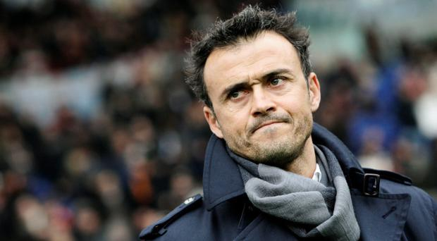 Luis Enrique Enrique has agreed to a two-year deal with Barcelona. (AP Photo/Riccardo De Luca, File)