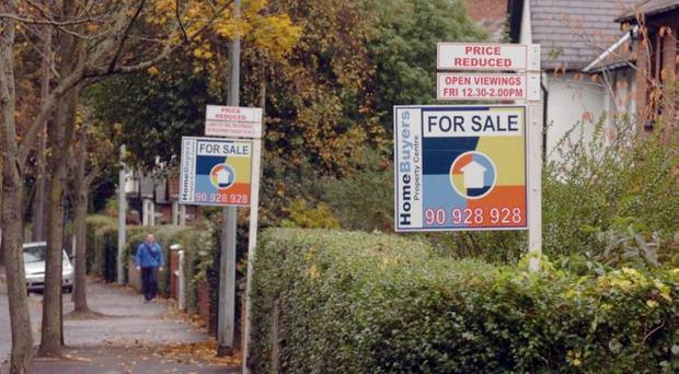 The fact that recovery in the property market here is well below the UK average is storing up trouble for the future
