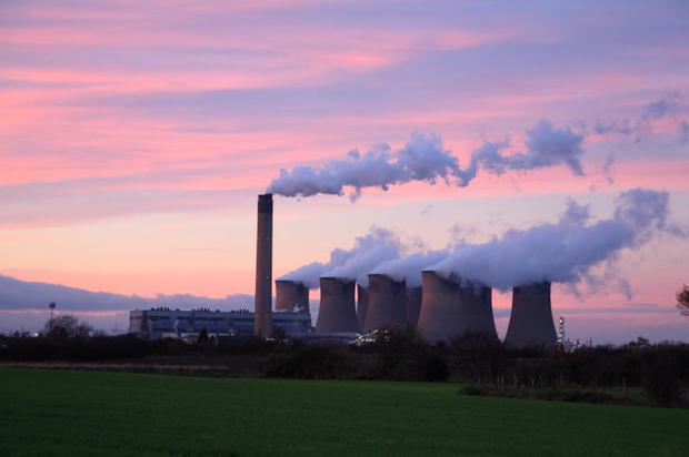 Drax power plant in Yorkshire