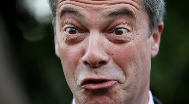 Image result for nigel farage cum faces