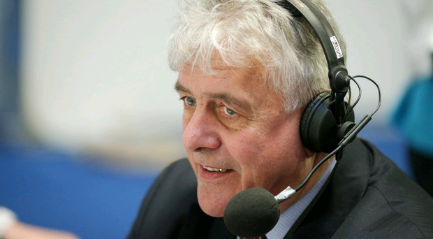 Jim Nicholson, Ulster Unionist Party takes part in a radio interview.