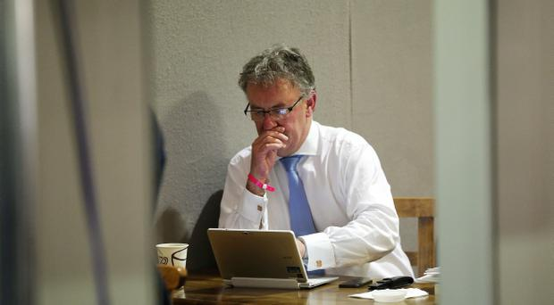 Smiles ahead: Mike Nesbitt has helped reinvigorate the party