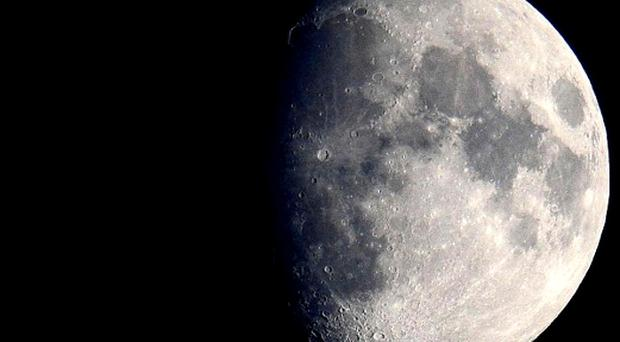 The man missed the moon by about 1.2billion feet