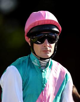 Big name: Top Jockey Pat Smullen rides several leading fancies at Down Royal tonight