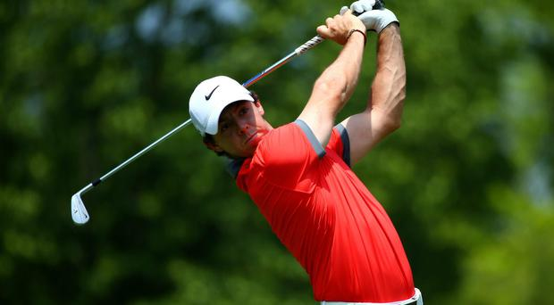 Rory McIlroy of Northern Ireland in Dublin, Ohio. (Photo by Andy Lyons/Getty Images)