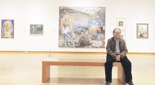 Drawing inspiration: Malachi O'Doherty at the Art of the Troubles exhibition