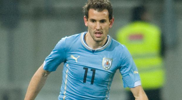 Christian Stuani scored the winning goal as Uruguay narrowly defeated Northern Ireland in Montevideo