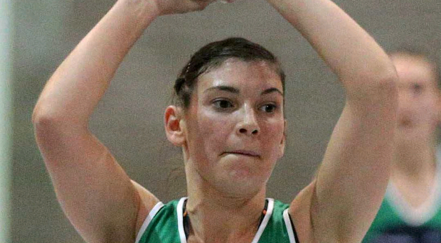 Injury woe: Hannah Willis failed to finish the battle with Wales