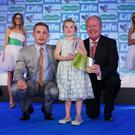 Rose Doherty and Carl Frampton with Julian Simmons