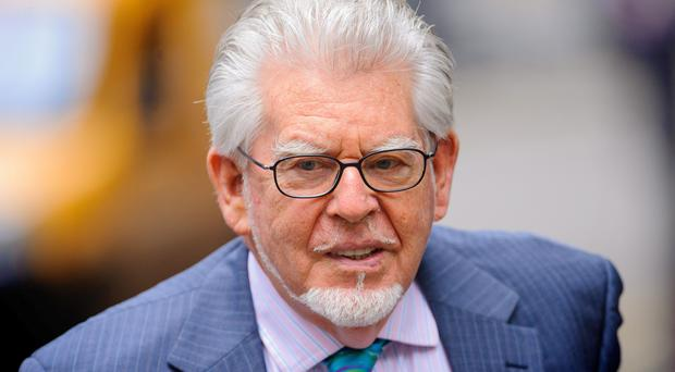 Rolf Harris at Southwark Crown Court