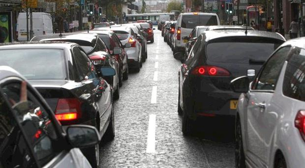 Belfast was the most congested city, with the worst periods 36% more congested than the free-flowing ones.