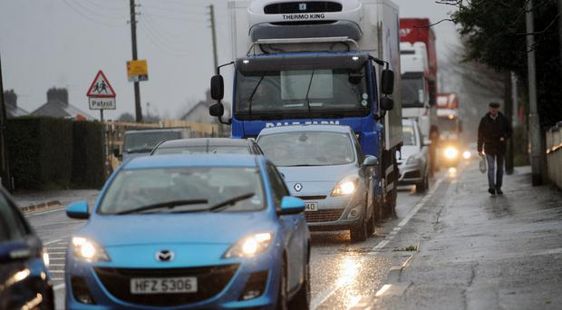 Much of Belfast sill suffers from gridlock