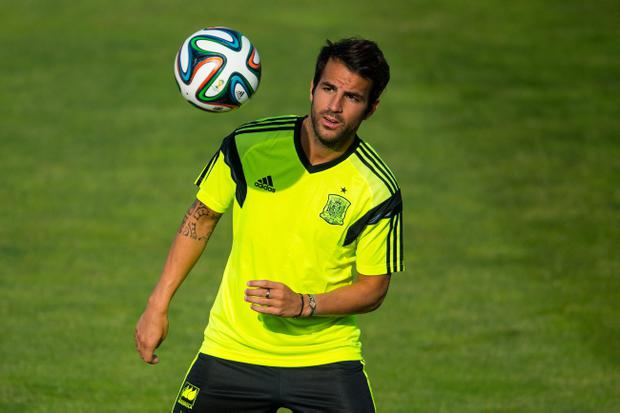 Cesc Fabregas is part of Spain's World Cup squad. (Photo by David Ramos/Getty Images)