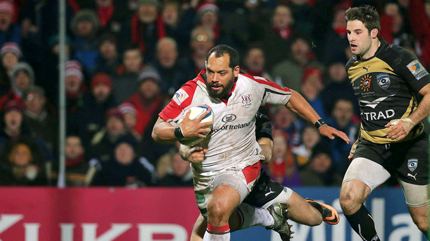 Reunion: John Afoa and David Humphreys will link up again