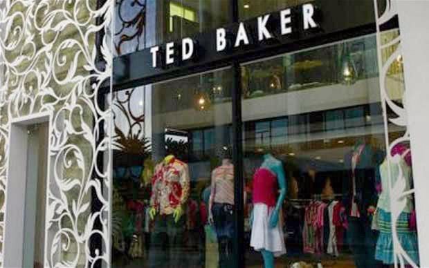 Ted Baker has over 380 stores and concessions worldwide