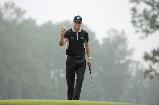 US Open 2014 winner: Martin Kaymer of Germany won his first US Open at Pinehurst. (AP Photo/Chuck Burton)