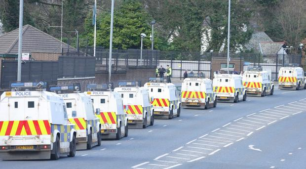 The clouds are darkening over north Belfast, with Camp Twaddell on one side of a deepening divide and embittered Ardoyne residents on the other