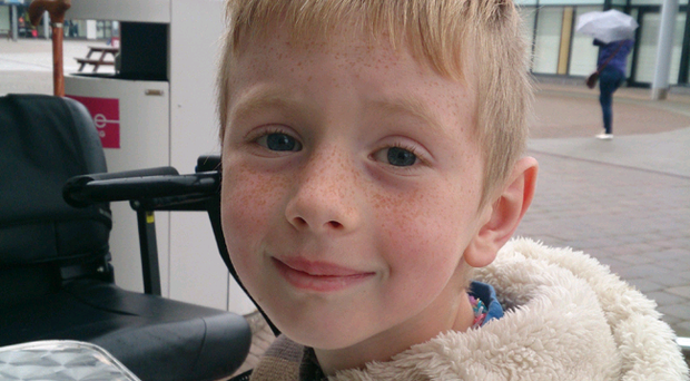 Logan Crawford (7) died after being found at the bottom of cliffs in Ballycastle, Co Antrim