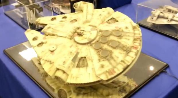A replica Millennium Falcon is one of over 1,000 items going under the hammer