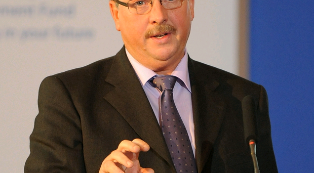 Ex-Finance Minister Sammy Wilson