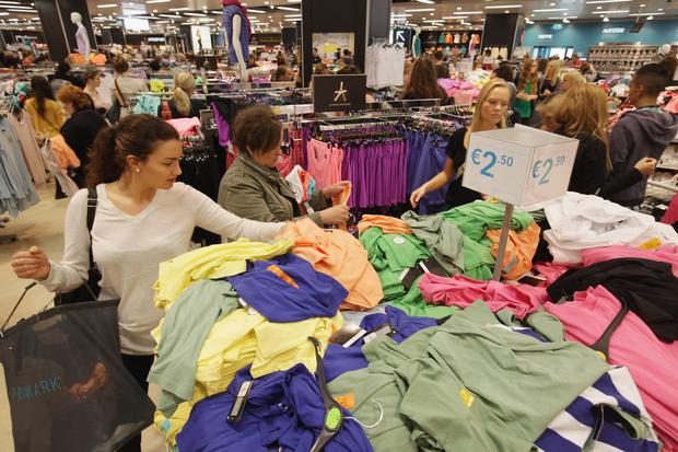 Shoppers at a Primark clothing store. Getty Images