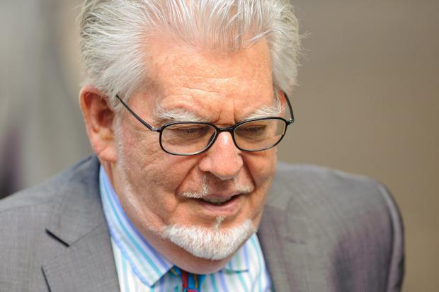 Rolf Harris arriving at Southwark Crown Court, London today. Pic Dominic Lipinski/PA Wire