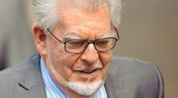 Veteran entertainer Rolf Harris arriving at Southwark Crown Court, London today. The veteran entertainer was found guilty or 12 counts of indecent assault. Photo: Dominic Lipinski/PA Wire