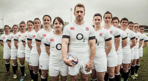 England men's captain Chris Robshaw has given his full support to the upcoming campaign of Katy Mclean's side
