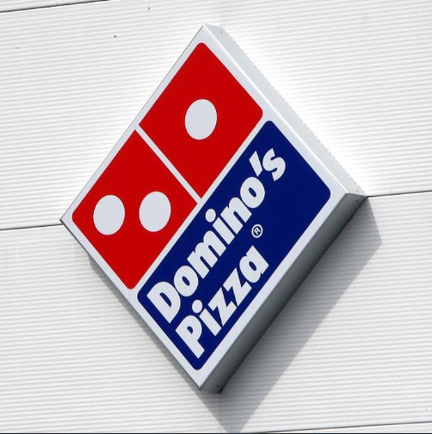 Domino's Pizza branch caught buying Aldi supermarket wedges