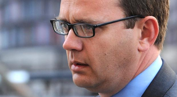 Andy Coulson was found guilty last week of conspiring to intercept voicemails at the News of the World tabloid following an eight-month trial at the Old Bailey. (Photo by Stuart C. Wilson/Getty Images)