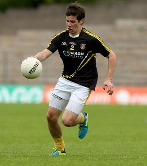Testing times: Kevin O'Boyle wants to keep playing against the top teams