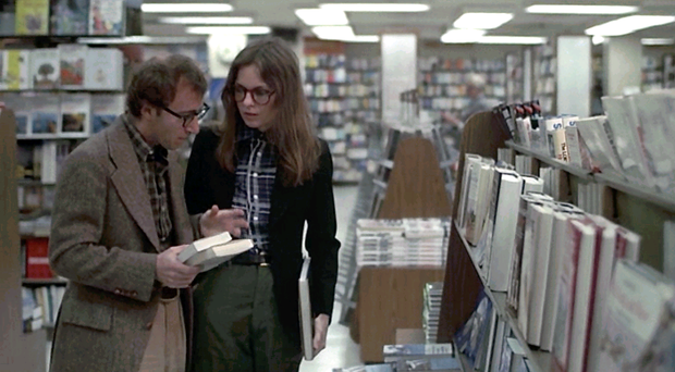 Woody Allen plays the neurotic Alvy Singer in Annie Hall