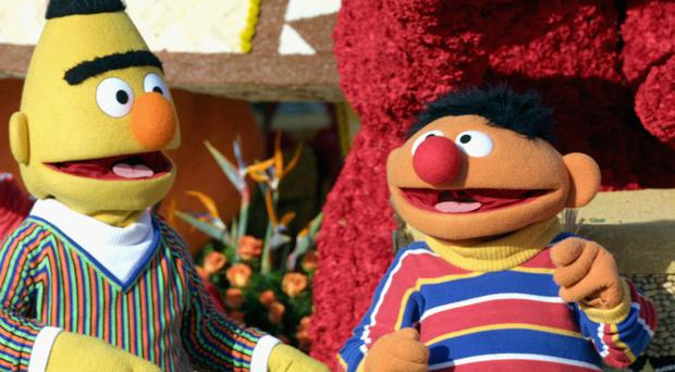 Sesame Street's Bert and Ernie (Photo Matthew Simmons/Getty Images)