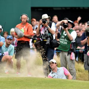 Northern Ireland's Rory McIlroy during day four of the 2014 Open Championship at Royal Liverpool Golf Club, Hoylake.
