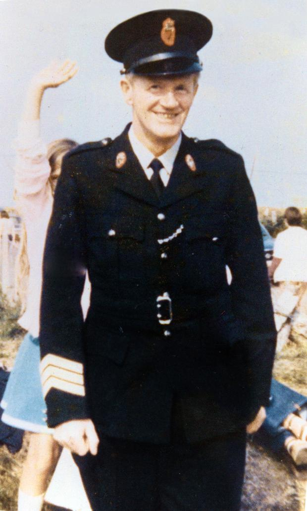 Sergeant Joe Campbell, who was murdered at Cushendall RUC station in 1977