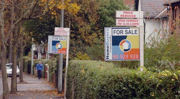 The rate of young people buying homes has fallen to the lowest level on record, a new report says