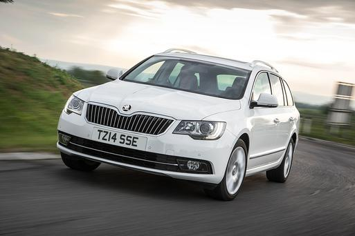 The Skoda Superb estate