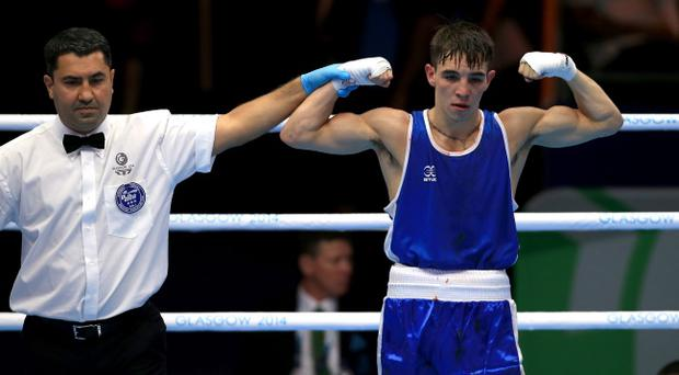 Michael Conlan is now just one fight away from securing a medal