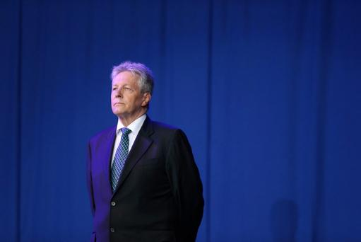 'First Minister Peter Robinson is a leader who's not doing job'