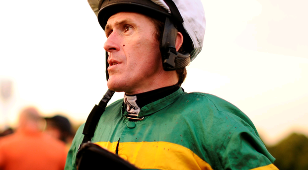 Class act: Tony McCoy rides favourite Alderwood in Galway feature