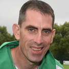 Precious metal: Marty McHugh is bidding for medal success