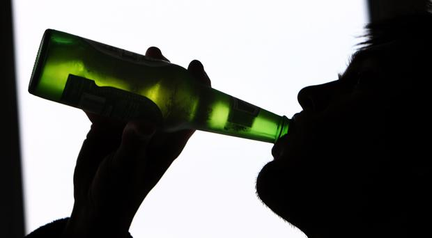 Only patients with liver problems who are the heaviest drinkers would be affected by a minimum price for alcohol, experts say. Picture posed
