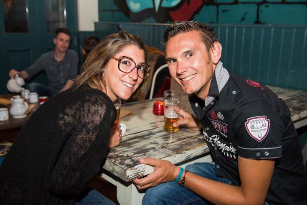 The alley cat bar pictured Julie Bruyere and clement stehlin