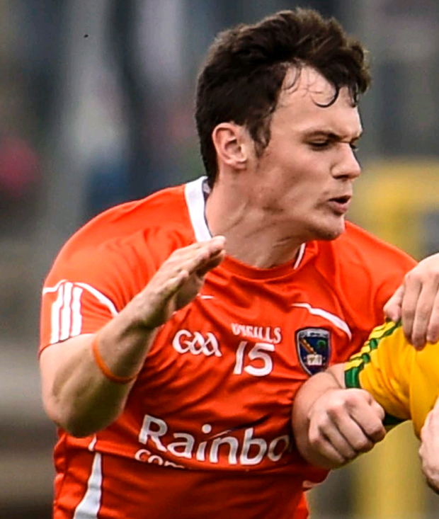 Danger man: Caolan McConville can be crucial in Armagh scores