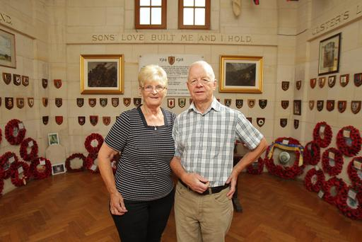 Teddy and Phoebe live in the Ulster Tower in Thiepval, where they work in remembrance of the soldiers from here who died in the Great War