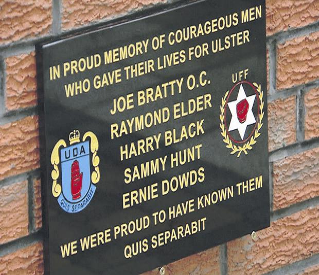 It is sickening that the garden should have been hijacked by the UDA to commemorate members from the area who were killed during the Troubles