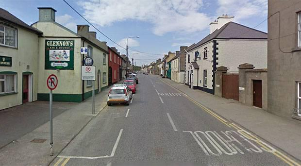The accident happened in the village of Ferbane, just north of Birr.
