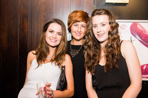 Ollies nightclub pictured Rebecca Fleming, lee-Ann Greene and fiona Daniels