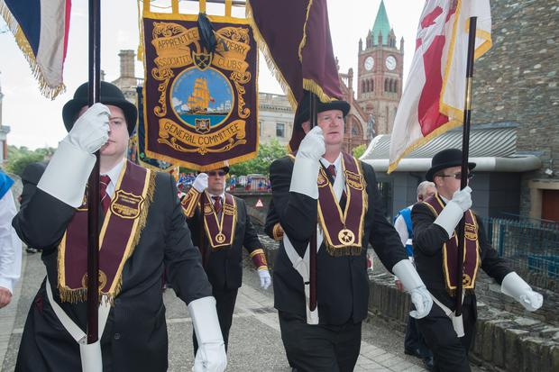 The Apprentice Boys will go on parade on St Patrick's Day in Londonderry for the first time as they celebrate their 150th anniversary